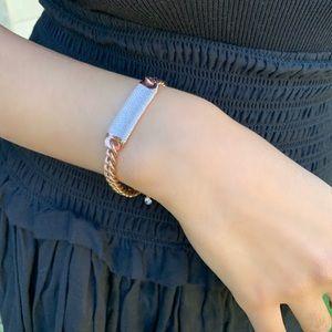 ✨ diamond bar bracelet